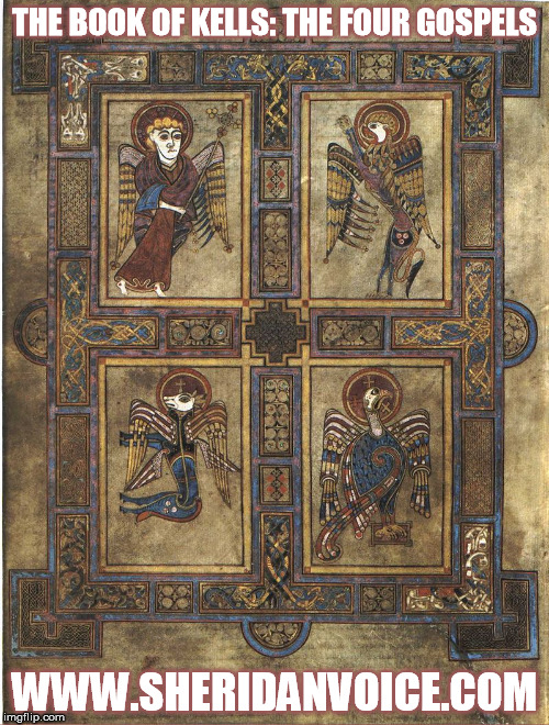Book of Kells Four Gospels Meme