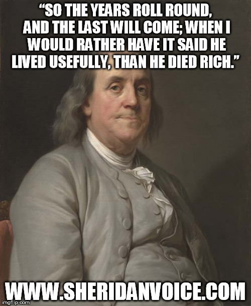 Franklin Meme Live Usefully