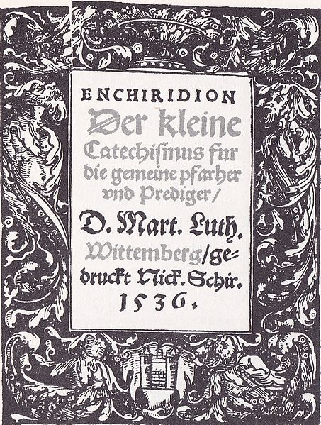 Luther's Small Catechism_1535