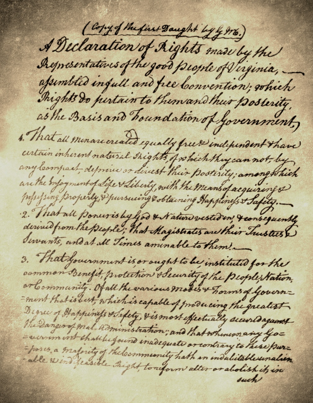 Mason's Hand Written Draft_Vintage