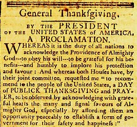 Washington Thanksgiving October 3