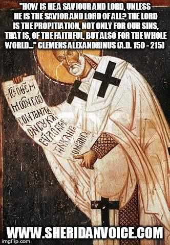 Clemens Alexandrinus Meme