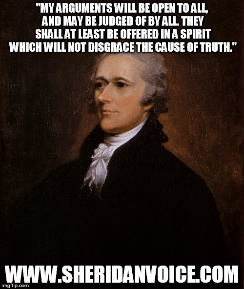Hamilton Truth Meme