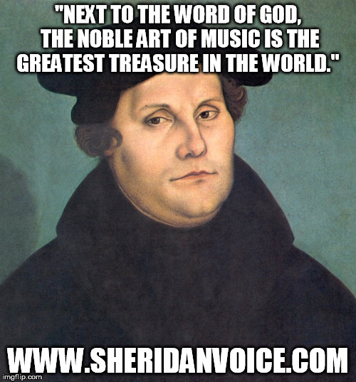 Luther Music Meme